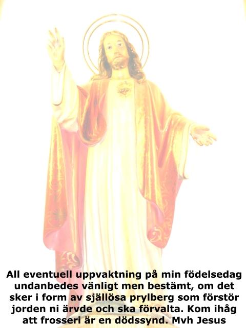 Jesus om bnd