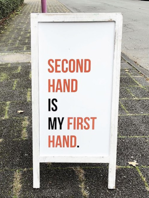Second hand is my first hand